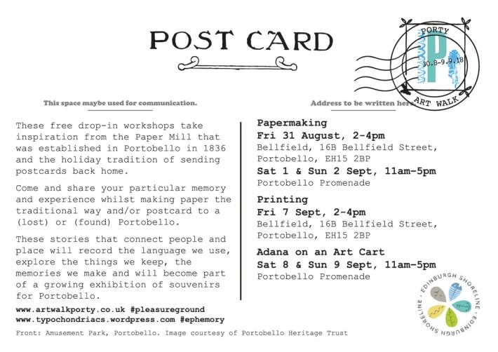 Portobello Postcard
